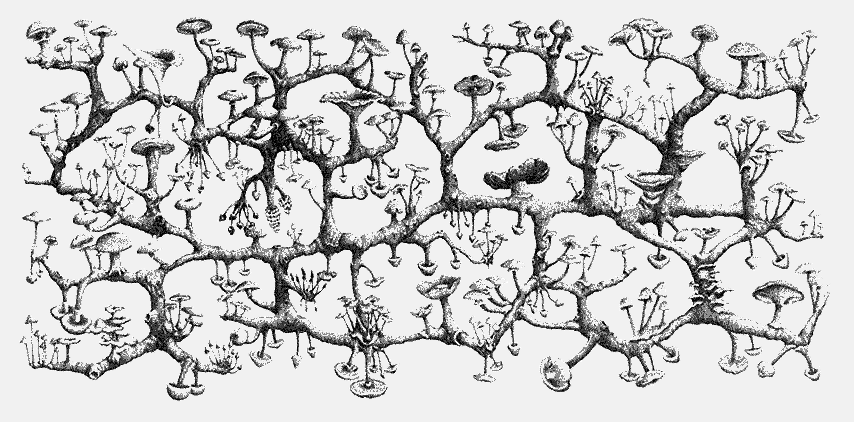 Richard Giblett - Mycelium Rhizome (2008)
