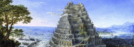 """The Tower of Babel"", Lucas van Valckenborch"