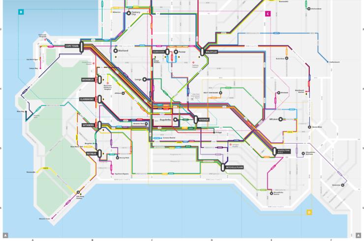 DensityDesign Lab | Mapping and representing informal transport